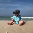 Eczéma de bébé :  Votre enfant de 12 à 18 mois veut jouer dans le sable ? Zoom sur les précautions à prendre [Vacances à la plage 2/4]