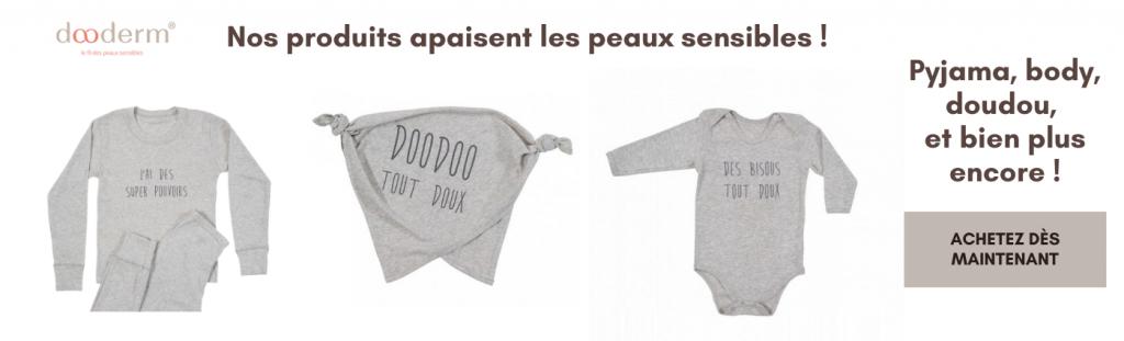 vêtement anti démangeaison bébé